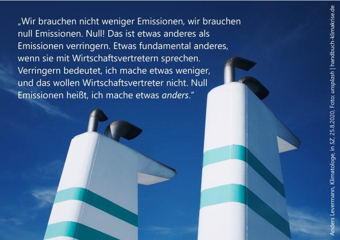 Anders Levermann, Klimatologe, in SZ, 25.8.2020 | Foto: unsplash | | handbuch-klimakrise.de